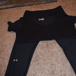 Under Armour Bundle (shirt and leggings)